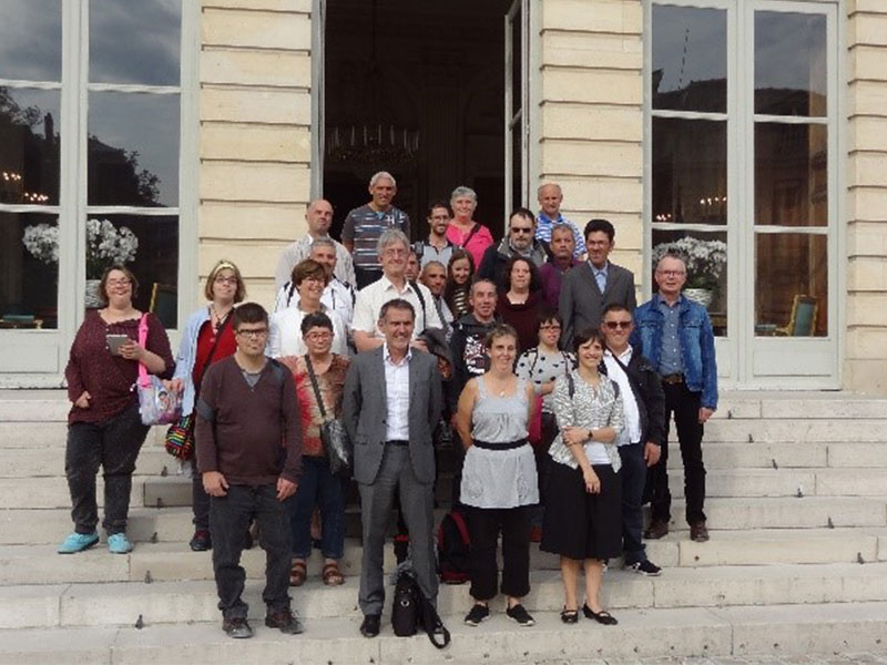 Visite de l 39 assembl e nationale pour l 39 esat horticat et for Quai d orsay metro